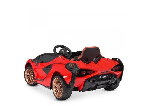 Детский электромобиль Lamborghini (Ламборджини) Bambi M 4530EBLR-3 красный
