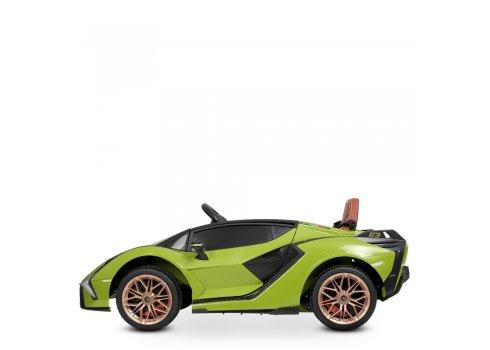 Детский электромобиль Lamborghini (Ламборджини) Bambi M 4530EBLR-5 зеленый