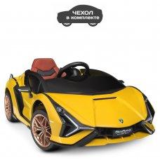 Детский электромобиль Lamborghini (Ламборджини) Bambi M 4530EBLR-6 желтый
