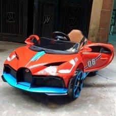 Детский электромобиль Bugatti легковая машина Tilly T-7657 EVA RED красный