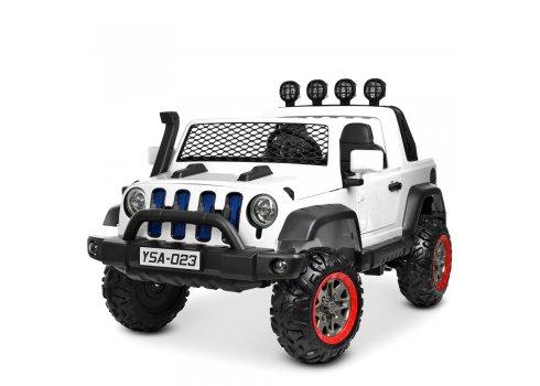 Детский электромобиль внедорожник JEEP BAMBI YSA-023EBLR-1 белый