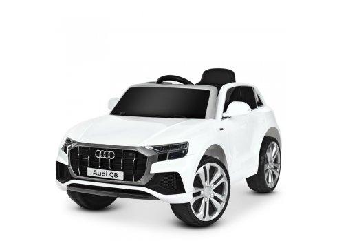 Детский электромобиль джип (Ауди) Audi Q8 JJ2066EBLR-1 белый