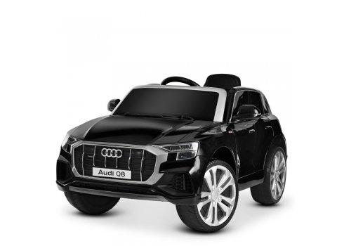 Детский электромобиль джип (Ауди) Audi Q8 JJ2066EBLR-2 черный