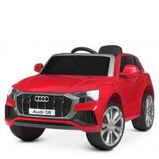 Детский электромобиль джип (Ауди) Audi Q8 JJ2066EBLR-3 красный