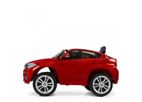 Детский электромобиль BMW X6 на аккумуляторе JJ2199EBLRS-3 покраска красный