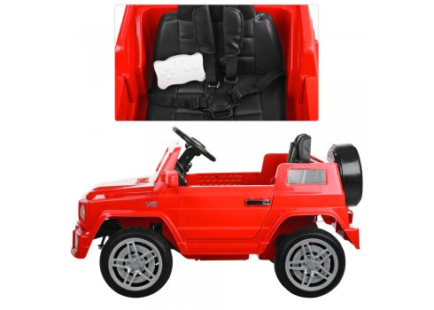 Детский электромобиль Джип MERCEDES BENZ Bambi M 2788EBLR-3 красный