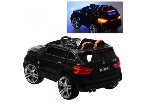 Детский электромобиль BMW с MP4 планшетом M 3102(MP4)EBLR-2 черный