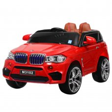 Детский электромобиль BMW с MP4 планшетом, M 3102(MP4)EBLR-3 красный