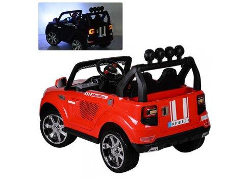 Детский электромобиль BMW с мощным мотором M 3118EBLR-3 красный