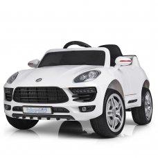 Детский электромобиль Porsche Macan Порше Макан M 3178EBLR-1 белый