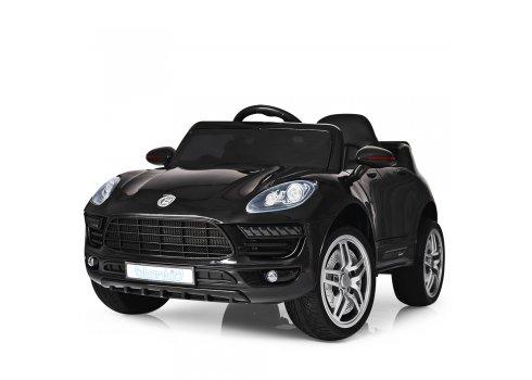 Детский электромобиль Porsche Macan Порше Макан M 3178EBLR-2 черный