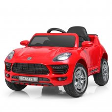 Детский электромобиль Porsche Macan Порше Макан M 3178EBLR-3 красный
