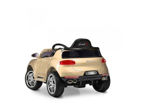 Детский электромобиль Porsche Macan Порше Макан M 3178EBRS-13 автопокраска золото