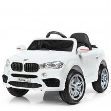 Детский электромобиль БМВ на пульте управления Bambi Racer M 3180EBLR-1 белый