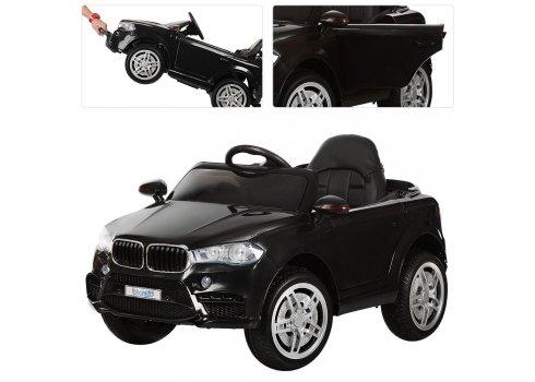 Детский электромобиль БМВ на пульте управления Bambi Racer M 3180EBLR-2 черный