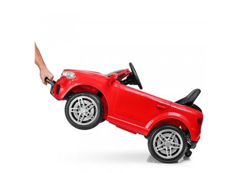 Детский электромобиль БМВ на пульте управления Bambi Racer M 3180EBLR-3 красный