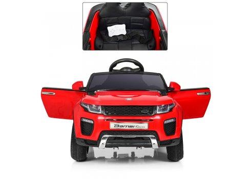 Детский электромобиль машина Джип Land Rover (Ленд Ровер) M 3213EBLR-3 красный