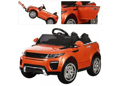 Детский электромобиль машина Джип Land Rover (Ленд Ровер) M 3213EBLR-7 оранжевый