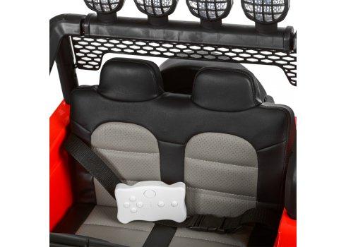 Детский полноприводный электромобиль JEEP BAMBI M 3237EBLR-3 красный