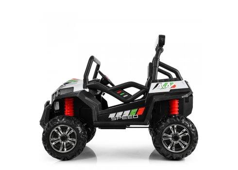 Детский двухместный электромобиль Buggy (Багги) M 3454(2)EBLR-1(24V) белый