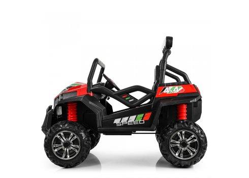 Детский двухместный электромобиль 4×4 Buggy (Багги) M 3454(2)EBLR-3 красный