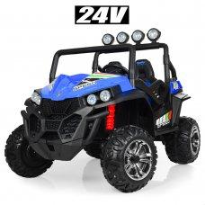 Детский двухместный электромобиль Buggy (Багги) M 3454(2)EBLR-4(24V) синий