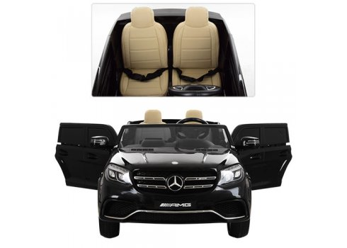Двухместный детский электромобиль Mercedes, колеса EVA, M 3565EBLR-2