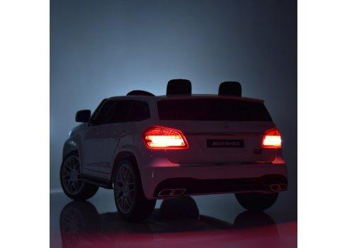 Детский электромобиль полноприводный с планшетом Mercedes M 3565(MP4)EBLRS-3 красный