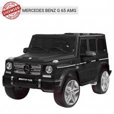 Детский электромобиль Джип Mercedes G65 (Мерседес Гелендваген) M 3567EBLRM-2 черный матовый