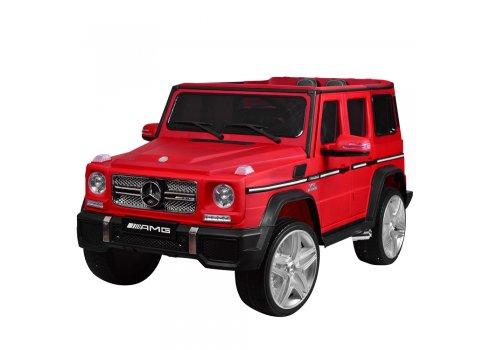 Детский электромобиль Джип Mercedes-Benz G65, M 3567EBLRM-3 красный матовый