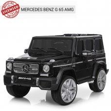 Детский электромобиль Джип Mercedes G65 (Мерседес Гелендваген) M 3567EBLRS-2 черный автопокраска