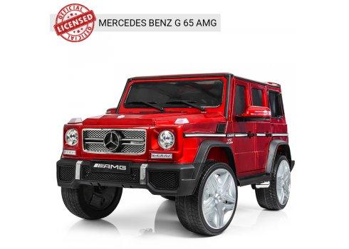 Детский электромобиль Джип Mercedes G65 (Мерседес Гелендваген) M 3567EBLRS-3 красный автопокраска