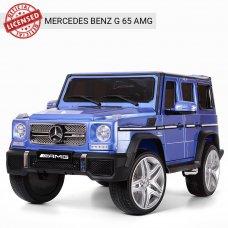 Детский электромобиль Джип Mercedes G65 (Мерседес Гелендваген) M 3567EBLRS-4 синий покраска