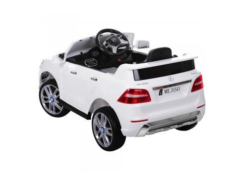 Детский электромобиль джип Mercedes ML350 M 3568EBLR-1 белый