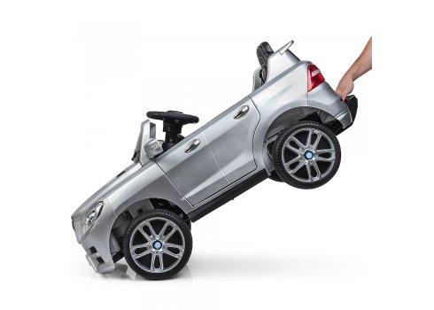 Детский электромобиль джип Mercedes ML350 M 3568EBLRS-11 серебро покраска