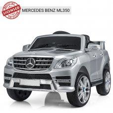 Детский электромобиль джип Mercedes M 3568EBLRS-11 серебро покраска