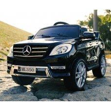 Детский электромобиль джип Mercedes ML350 M 3568EBLRS-2 черный покраска