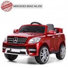 Детский электромобиль джип Mercedes M 3568EBLRS-3 красный покраска