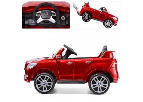 Детский электромобиль джип Mercedes ML350 M 3568EBLRS-3 красный покраска