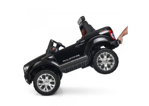 Детский электромобиль Ford Ranger (Форд Рейнджер) с MP4 монитор M 3573(MP4)EBLR-2 черный