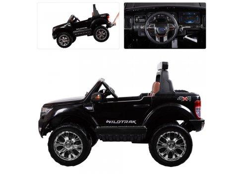 Детский двухместный электромобиль 4х4 Ford Ranger (Форд Рейнджер) M 3573EBLR-2 черный