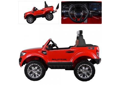 Детский двухместный электромобиль 4х4 Ford Ranger (Форд Рейнджер) M 3573EBLR-3 красный