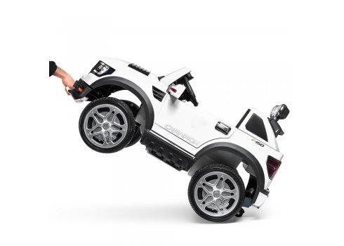 Детский электромобиль джип на аккумуляторе BAMBI M 3579EBLR-1 белый