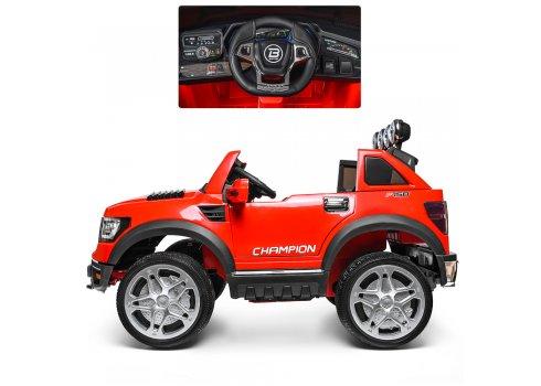 Детский электромобиль джип на аккумуляторе BAMBI M 3579EBLR-3 красный