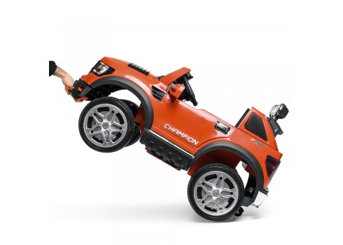 Детский электромобиль джип на аккумуляторе BAMBI M 3579EBLR-7 оранжевый
