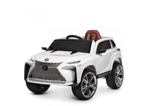 Детский электромобиль джип Lexus (Лексус) Bambi M 3584EBLR-1 белый