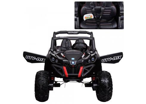 Детский 4х-моторный электромобиль Багги, M 3602EBLR-2 черный
