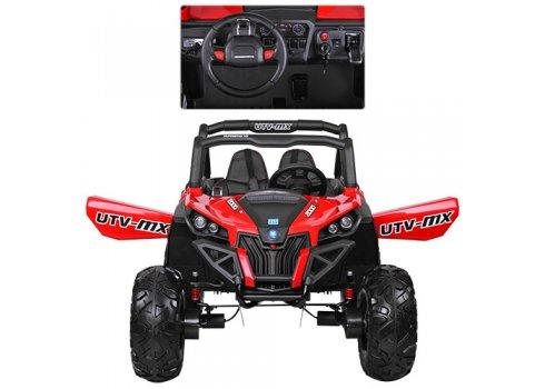 Детский 4х-моторный электромобиль Багги, M 3602 EBLR-3 красный