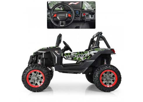 Детский 4х-моторный электромобиль Багги, M 3602EBLRS-18 камуфляж