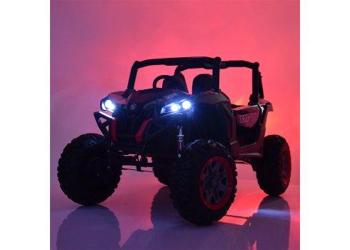 Детский 4х-моторный электромобиль Багги Bambi M 3602EBLRS-3-2 красный автопокраска
